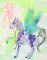 Fairy horse by chaosqueen122