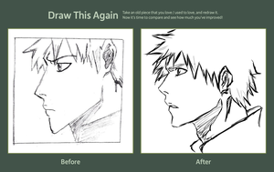 :Draw it again: Ichigo by watchfulshepherd