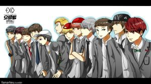 EXO-GROWL by sorasti