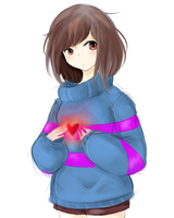 Frisk Sketch by ixJackiexx