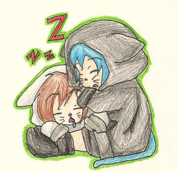 Sleep time :3 by TheLazyRulee