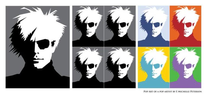 Andy Warhol (Version 1) by RetroYeti