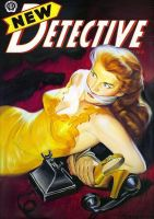 NEW DETECTIVE cover art by peterpulp