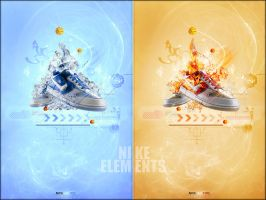 Nike Elements : Fire and Ice by liadN