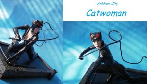 Arkham City Catwoman close up by cusT0M