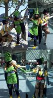 Female Cell and Dr. Gero Cosplay by DarlingArmy