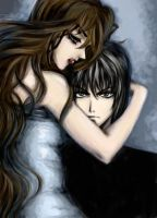 Alexiel and Kira by plunksna