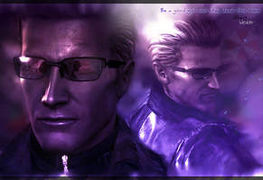 A. Wesker Wallpaper by RedDevil00