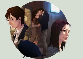 Playful kiss2 by mary-dreams