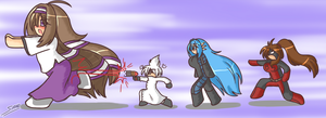 'Get out of my laboratory!' by Sanone