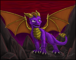 Spyro by AbsoluteDream