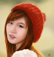 Song Jina - Autumn Days by Jeffufu