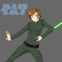 Jacen Solo by Silvaras
