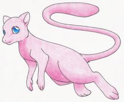 Mew by Rose-Hunter