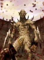 Orc gladiator by NergalArt