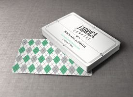Free Retro Business Card by Pixeden