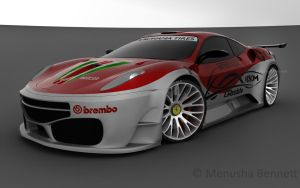 Ferrari GT3 Widebody 2 by TheSaladMan