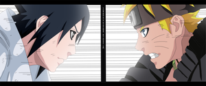 Naruto Scan 694 Sasuke VS Naruto Final by Sarah927
