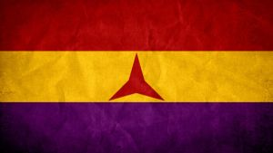 Flag of International Brigade - Spanish Civil War by SyNDiKaTa-NP