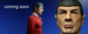 "custom 12"" scale Spock sculpt by DarrenCarnall"