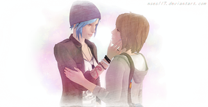 Chloe : Can I kiss you ? by nses117