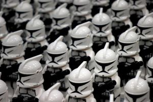 Lego Clone Troopers by AveryCF
