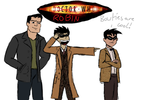 9th, 10th and 11th Robin Who by megibabe