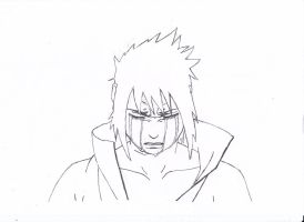 Sasuke Sadness by cbluv