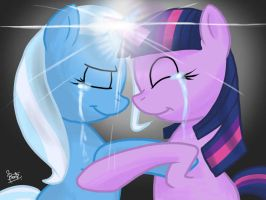 friend love by benkomilk