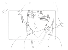 Soi Fon rough draft test by gamemaster8910