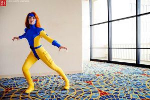 Jean Grey - Jim Lee Design by scruffyrebel