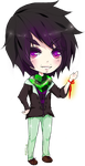 chibi family - first member - Crucible by Osetia
