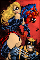 New Avengers by Ed Benes by J-Mace
