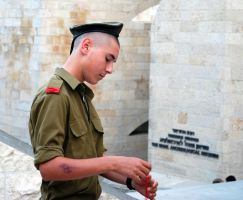 Young soldier 2, Jerusalem by dpt56