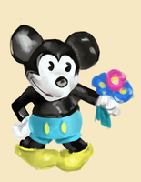 mickey mouse doll by oridan2