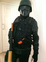 Umbrella Corporation Soldier With Tactical Vest (2 by DovaDrive