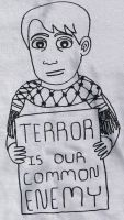 terror is our common enemy by adamndirtyshame