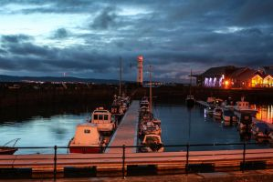 Newhaven Harbor 2 by Amby-Photograhy