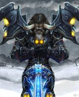 Tauren Warrior by pinali