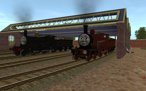 NWR #2 and #5 in Original Livery by Sergeant-Sunflower