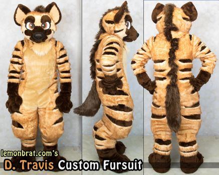 Dtravis Custom Fursuit by lemonbrat