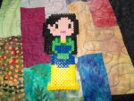 mulan perler by DINOCATCREATIONS