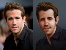 Ryan Reynold's by CaseyD2K