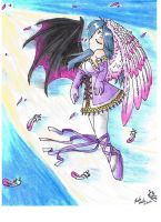 Angel of Good and Evil by Auffallend