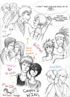 Bleach Couples I Like = Win by BleachObsessed16