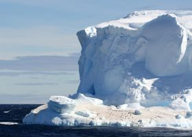 Antarctica :: 004 :: Iceberg Penguins by greenjinjo
