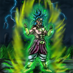 Speed Paint Broly Super Saiyan by ShynTheTruth
