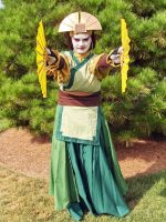 Avatar Kyoshi Cosplay 1 by Ssafloyd