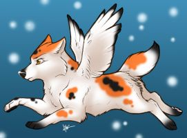 Koi dog by Nyaasu