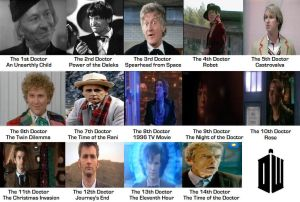 Doctor Who - The 14 Doctors [1963 to 2013] by DoctorWhoOne